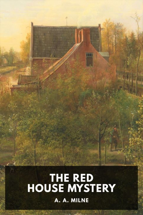 The cover for the Standard Ebooks edition of The Red House Mystery