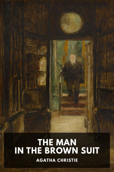 The cover for the Standard Ebooks edition of The Man in the Brown Suit