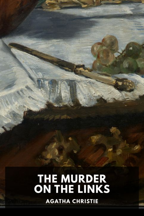 The cover for the Standard Ebooks edition of The Murder on the Links, by Agatha Christie