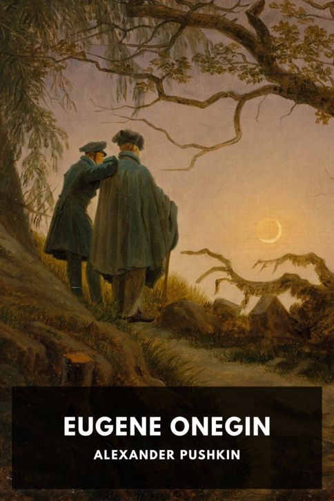 The cover for the Standard Ebooks edition of Eugene Onegin
