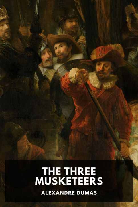 The cover for the Standard Ebooks edition of The Three Musketeers