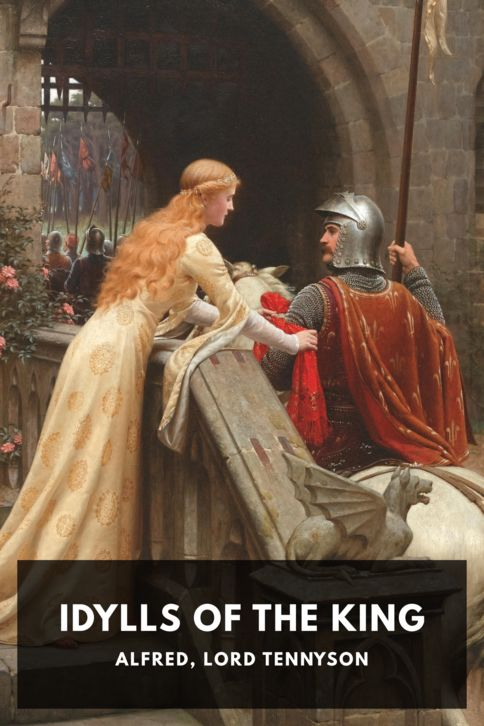 The cover for the Standard Ebooks edition of Idylls of the King, by Alfred, Lord Tennyson