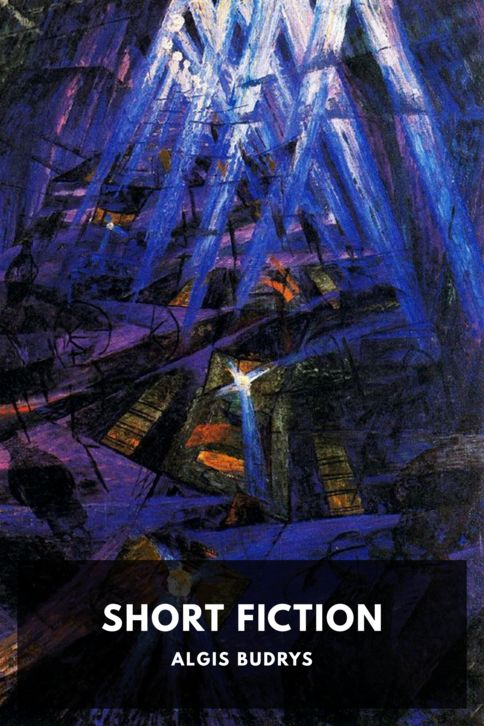The cover for the Standard Ebooks edition of Short Fiction, by Algis Budrys