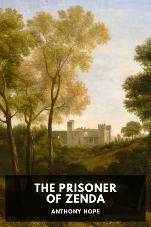 The cover for the Standard Ebooks edition of The Prisoner of Zenda, by Anthony Hope