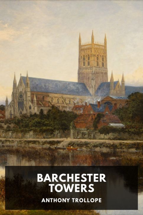 The cover for the Standard Ebooks edition of Barchester Towers