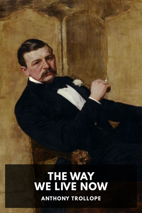 The cover for the Standard Ebooks edition of The Way We Live Now