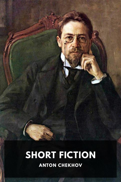 The cover for the Standard Ebooks edition of Short Fiction, by Anton Chekhov. Translated by Constance Garnett