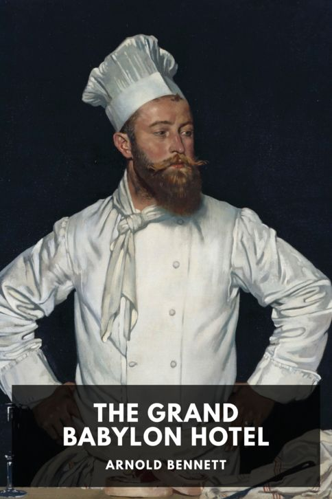 The cover for the Standard Ebooks edition of The Grand Babylon Hotel
