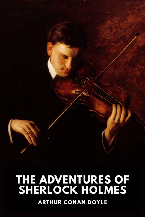 The cover for the Standard Ebooks edition of The Adventures of Sherlock Holmes