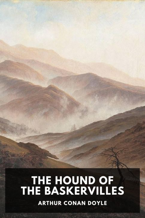 The cover for the Standard Ebooks edition of The Hound of the Baskervilles, by Arthur Conan Doyle