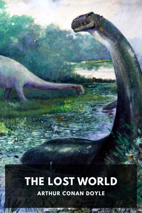 The cover for the Standard Ebooks edition of The Lost World