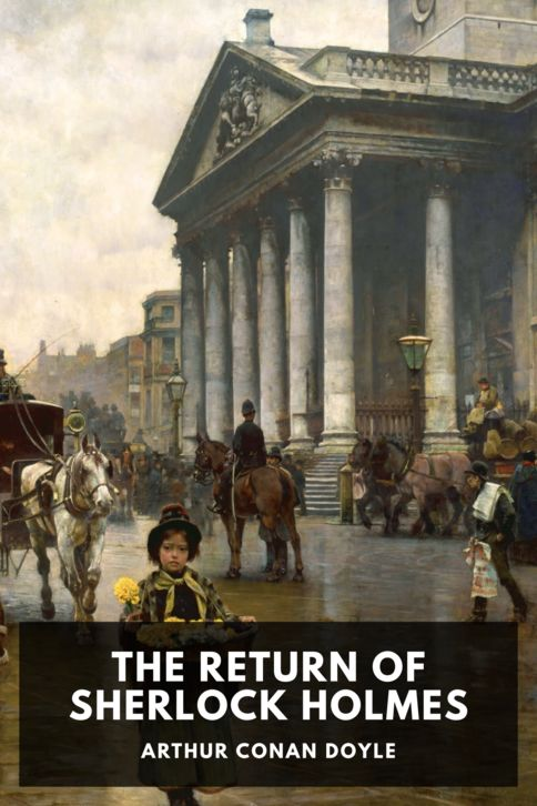The cover for the Standard Ebooks edition of The Return of Sherlock Holmes