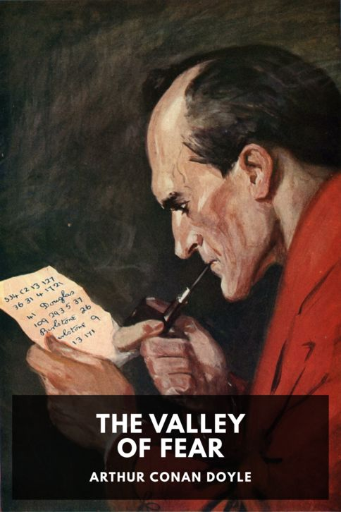The cover for the Standard Ebooks edition of The Valley of Fear