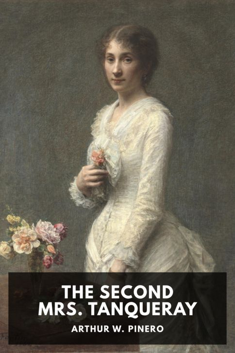 The cover for the Standard Ebooks edition of The Second Mrs. Tanqueray