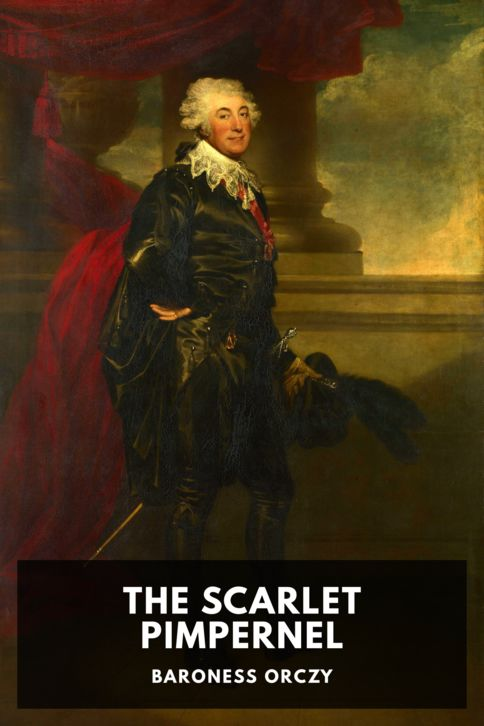 The cover for the Standard Ebooks edition of The Scarlet Pimpernel