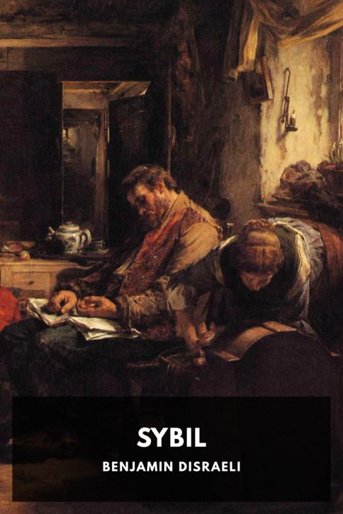 The cover for the Standard Ebooks edition of Sybil