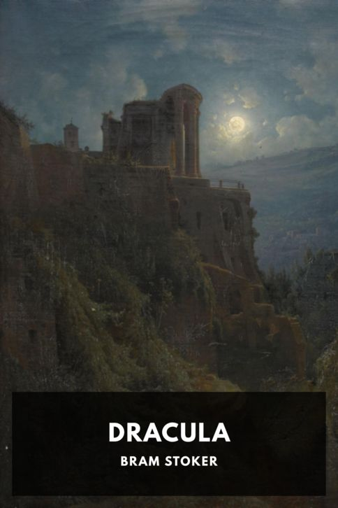The cover for the Standard Ebooks edition of Dracula