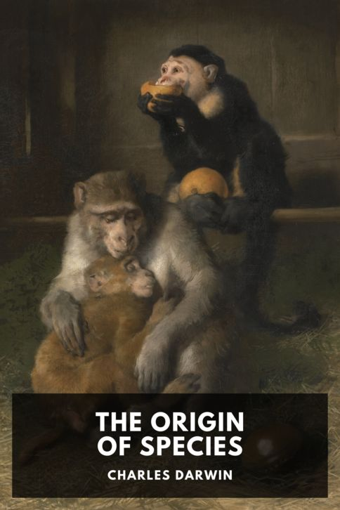 The cover for the Standard Ebooks edition of The Origin of Species, by Charles Darwin