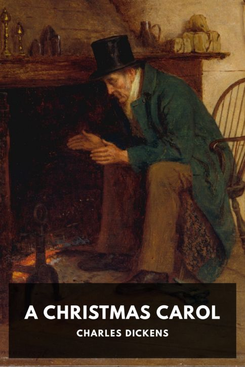 The cover for the Standard Ebooks edition of A Christmas Carol
