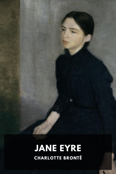 The cover for the Standard Ebooks edition of Jane Eyre, by Charlotte Brontë