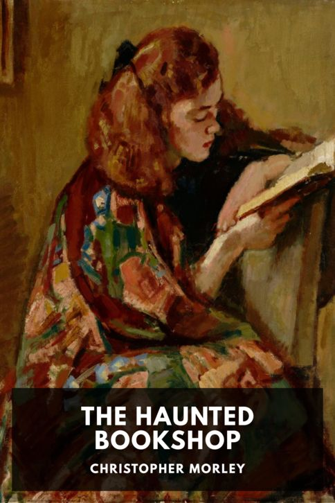 The cover for the Standard Ebooks edition of The Haunted Bookshop