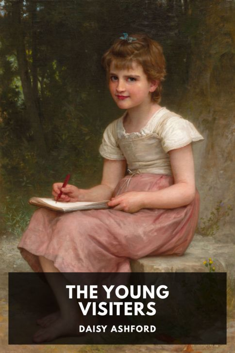 The cover for the Standard Ebooks edition of The Young Visiters