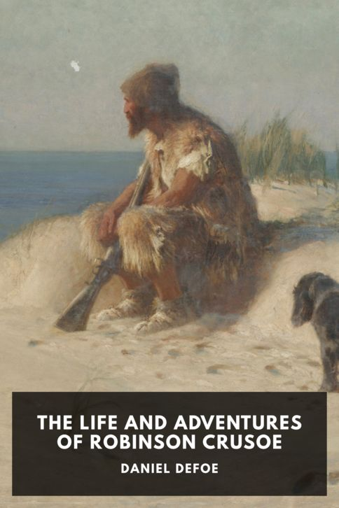 The cover for the Standard Ebooks edition of The Life and Adventures of Robinson Crusoe