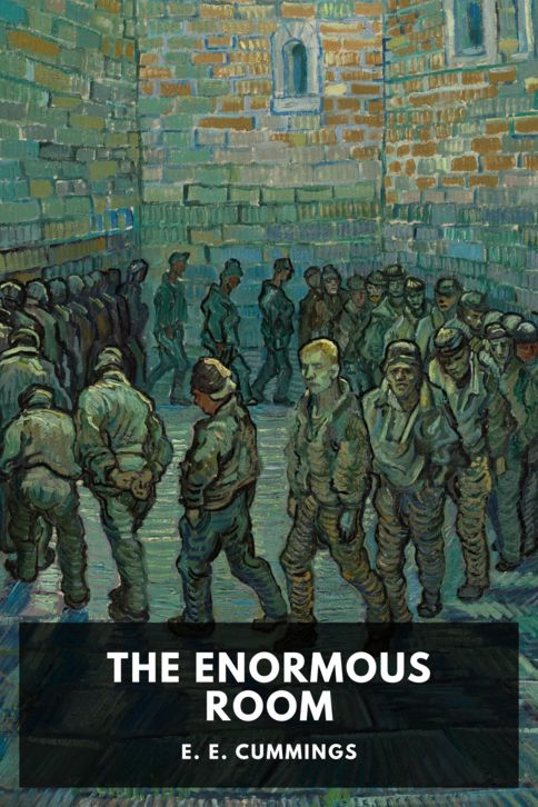 The cover for the Standard Ebooks edition of The Enormous Room, by E. E. Cummings
