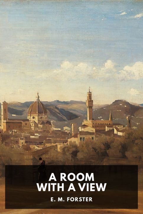The cover for the Standard Ebooks edition of A Room With a View, by E. M. Forster
