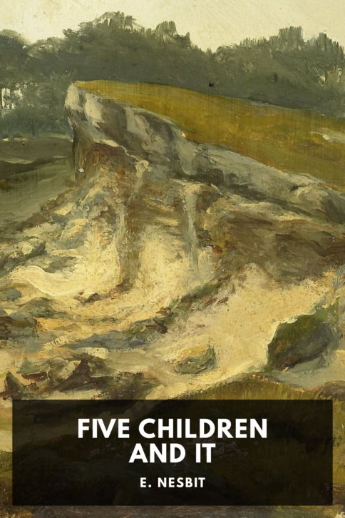 The cover for the Standard Ebooks edition of Five Children and It, by E. Nesbit