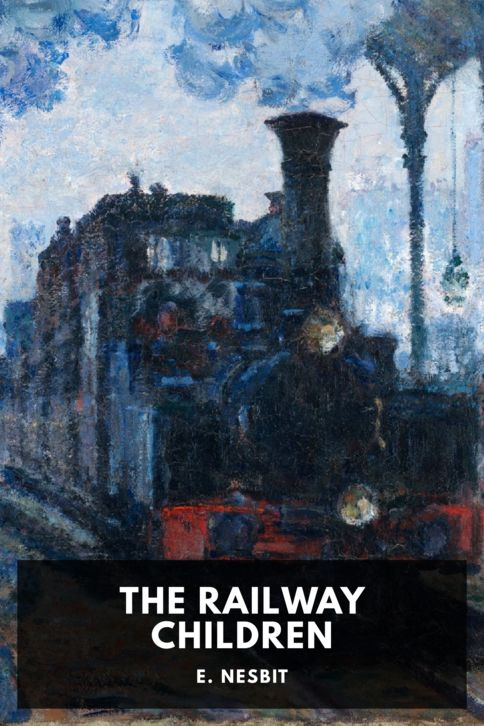 The cover for the Standard Ebooks edition of The Railway Children