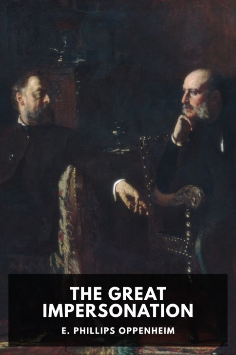 The cover for the Standard Ebooks edition of The Great Impersonation