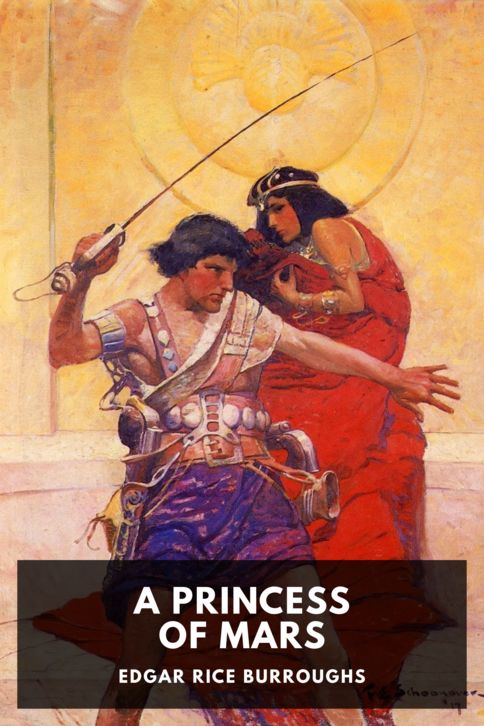 The cover for the Standard Ebooks edition of A Princess of Mars, by Edgar Rice Burroughs