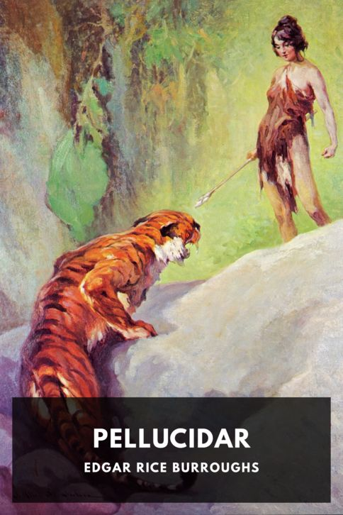 The cover for the Standard Ebooks edition of Pellucidar