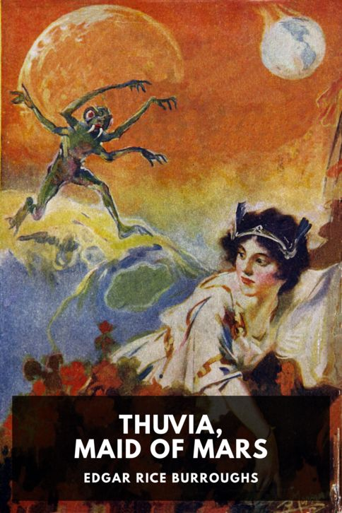 The cover for the Standard Ebooks edition of Thuvia, Maid of Mars, by Edgar Rice Burroughs