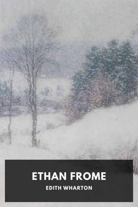 The cover for the Standard Ebooks edition of Ethan Frome