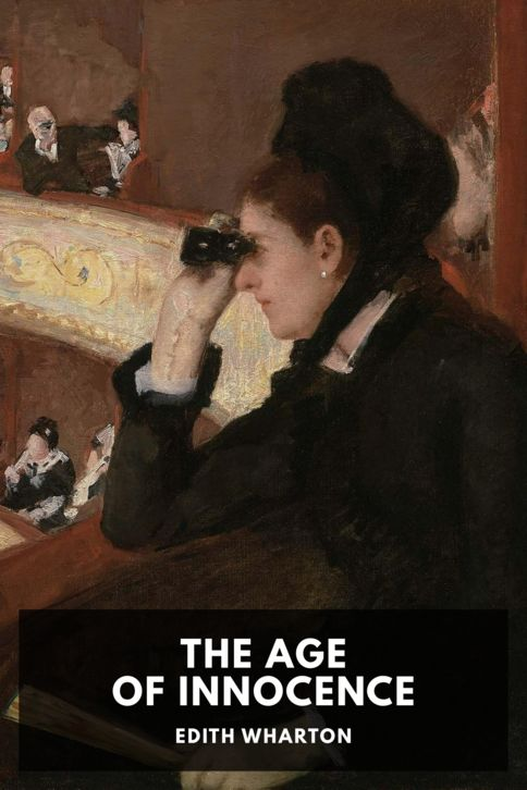 The cover for the Standard Ebooks edition of The Age of Innocence