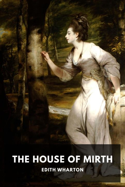 The cover for the Standard Ebooks edition of The House of Mirth