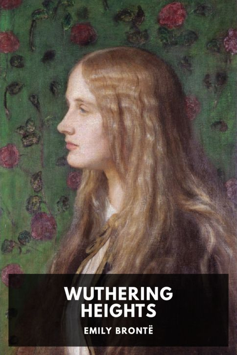 The cover for the Standard Ebooks edition of Wuthering Heights, by Emily Brontë