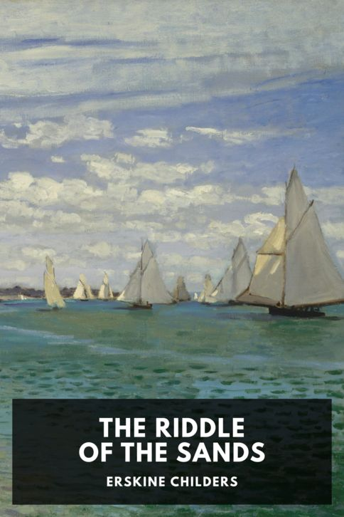 The cover for the Standard Ebooks edition of The Riddle of the Sands
