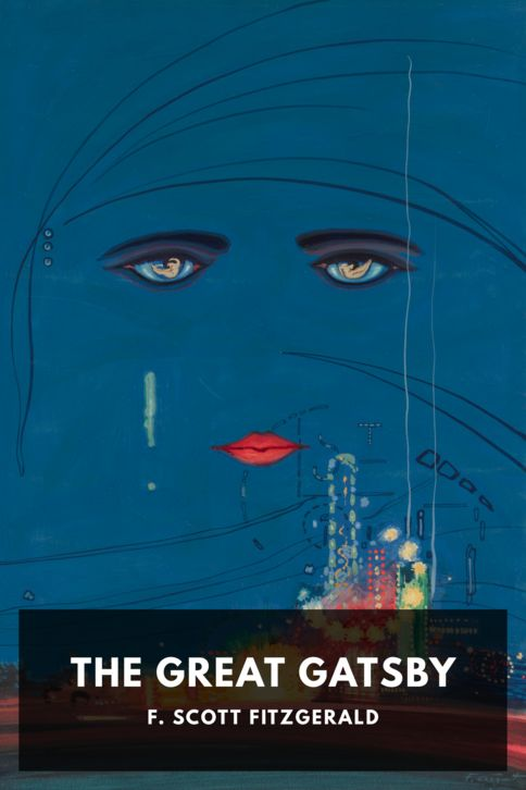 The cover for the Standard Ebooks edition of The Great Gatsby, by F. Scott Fitzgerald