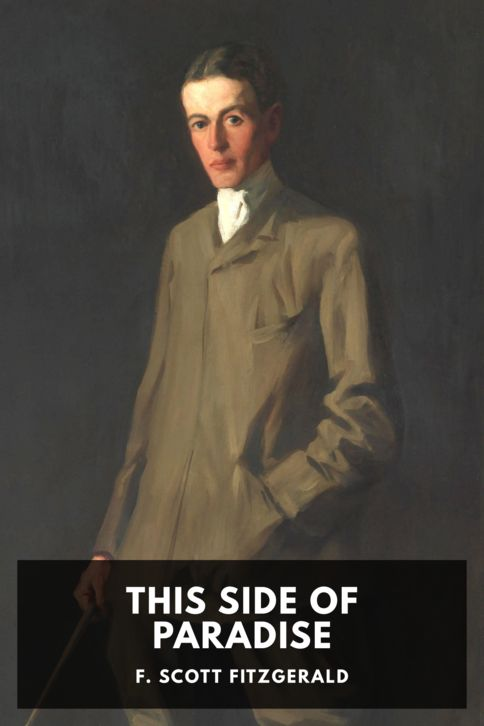 The cover for the Standard Ebooks edition of This Side of Paradise, by F. Scott Fitzgerald