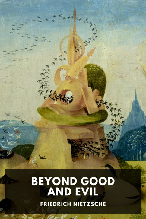 The cover for the Standard Ebooks edition of Beyond Good and Evil, by Friedrich Nietzsche. Translated by Helen Zimmern and L. A. Magnus