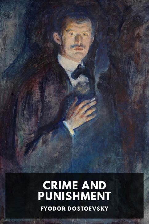 The cover for the Standard Ebooks edition of Crime and Punishment