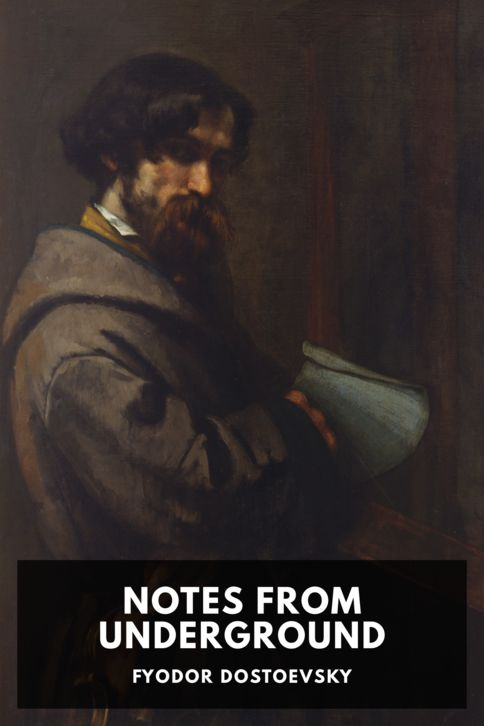 The cover for the Standard Ebooks edition of Notes from Underground, by Fyodor Dostoevsky. Translated by Constance Garnett