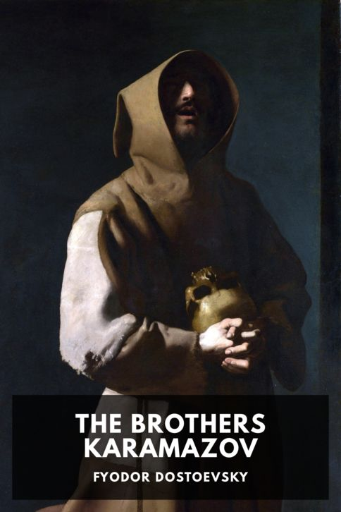 The cover for the Standard Ebooks edition of The Brothers Karamazov, by Fyodor Dostoevsky. Translated by Constance Garnett