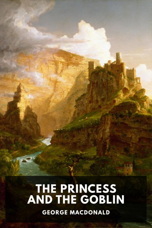 The cover for the Standard Ebooks edition of The Princess and the Goblin