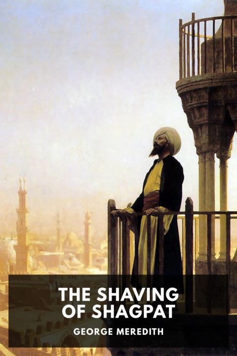 The cover for the Standard Ebooks edition of The Shaving of Shagpat