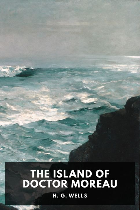 The cover for the Standard Ebooks edition of The Island of Doctor Moreau