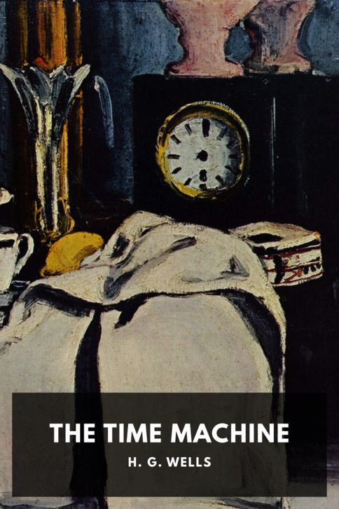 The cover for the Standard Ebooks edition of The Time Machine